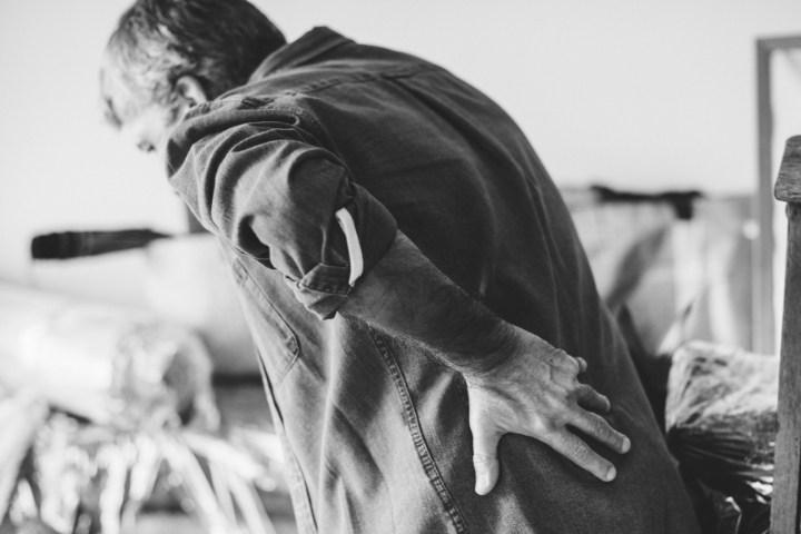 derékbecsípődés derékfájdalom