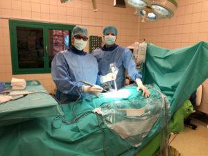 endoszkópos gerincműtét